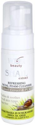 Victoria Beauty Snail Extract osvěžující čisticí pěna se šnečím extraktem