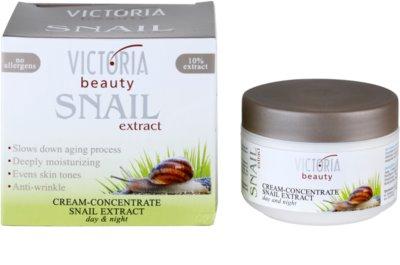 Victoria Beauty Snail Extract concentrado cremoso de dia e noite com extrato de baba de caracol 2