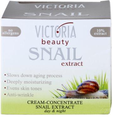 Victoria Beauty Snail Extract concentrado cremoso de dia e noite com extrato de baba de caracol 3