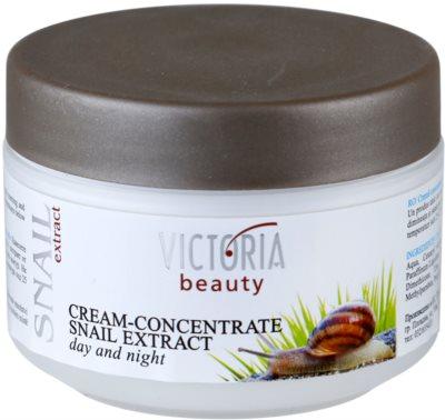 Victoria Beauty Snail Extract concentrado cremoso de dia e noite com extrato de baba de caracol