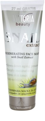 Victoria Beauty Snail Extract máscara regeneradora com extrato de baba de caracol