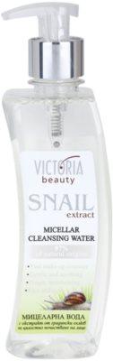 Victoria Beauty Snail Extract apa pentru curatare cu particule micele extract de melc