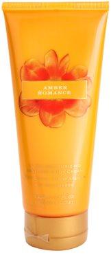 Victoria's Secret Amber Romance Black Cherry, Creme Anglaise and Sandalwood Body Cream for Women