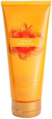 Victoria's Secret Amber Romance Black Cherry, Creme Anglaise and Sandalwood crema de corp pentru femei