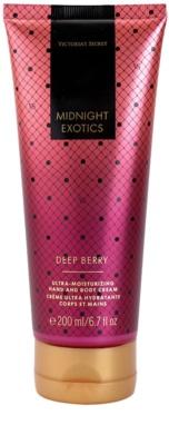 Victoria's Secret Midnight Exotics Deep Berry crema corporal para mujer