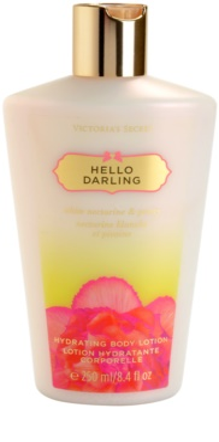 Victoria's Secret Hello Darling тоалетно мляко за тяло за жени