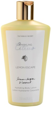 Victoria's Secret Lemon Escape tělové mléko pro ženy
