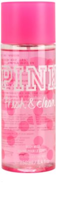 Victoria's Secret Pink Fresh and Clean pršilo za telo za ženske