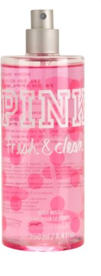 Victoria's Secret Pink Fresh and Clean Body Spray for Women 1