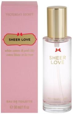 Victoria's Secret Sheer Love Eau de Toilette für Damen