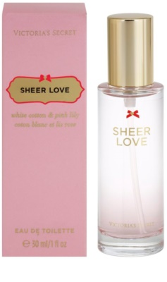 Victoria's Secret Sheer Love eau de toilette para mujer