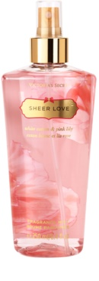 Victoria's Secret Sheer Love spray de corpo para mulheres