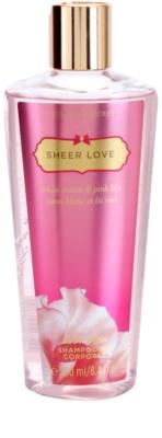 Victoria's Secret Sheer Love gel de ducha para mujer