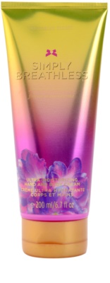 Victoria's Secret Simply Breathless crema corporal para mujer