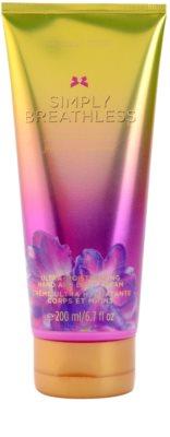 Victoria's Secret Simply Breathless crema de corp pentru femei