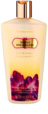 Victoria's Secret Simply Breathless tělové mléko pro ženy