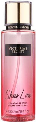Victoria's Secret Fantasies Sheer Love testápoló spray nőknek