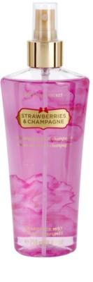 Victoria's Secret Strawberry & Champagne testápoló spray nőknek