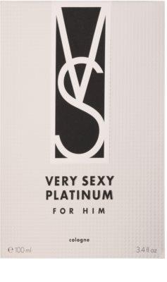 Victoria's Secret Very Sexy Platinum Eau De Cologne pentru barbati 1