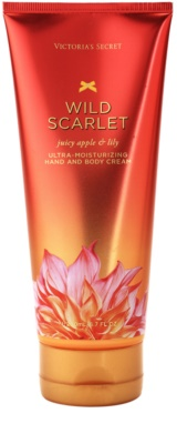 Victoria's Secret Wild Scarlet Body Cream for Women