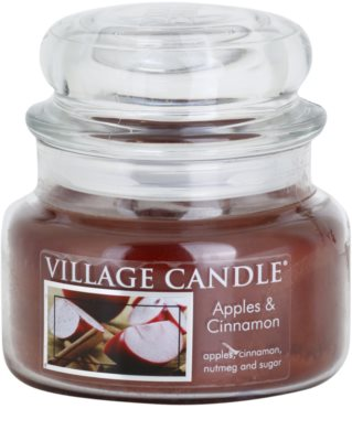Village Candle Apple Cinnamon vela perfumada   pequeño