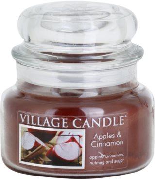 Village Candle Apple Cinnamon vonná svíčka  malá