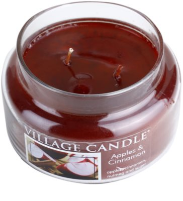 Village Candle Apple Cinnamon Duftkerze   kleine 1