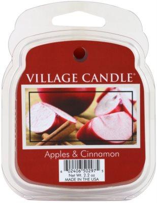 Village Candle Apple Cinnamon cera para lámparas aromáticas