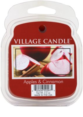 Village Candle Apple Cinnamon Wachs für Aromalampen