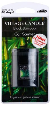 Village Candle Black Bamboo illat autóba