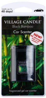 Village Candle Black Bamboo odświeżacz do samochodu