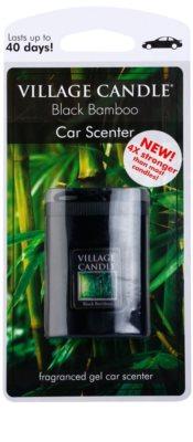 Village Candle Black Bamboo vůně do auta