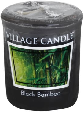 Village Candle Black Bamboo Votivkerze
