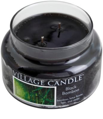 Village Candle Black Bamboo illatos gyertya   kicsi 1