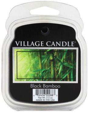 Village Candle Black Bamboo vosek za aroma lučko