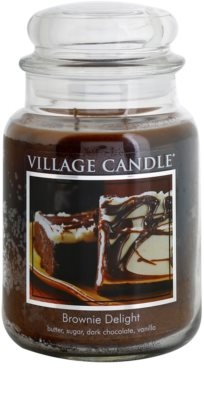 Village Candle Brownies Delight dišeča sveča   velika