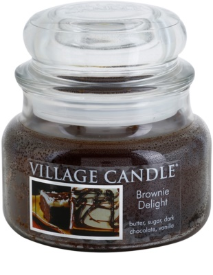 Village Candle Brownies Delight ароматна свещ   малка