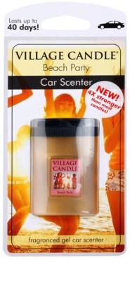 Village Candle Beach Party illat autóba