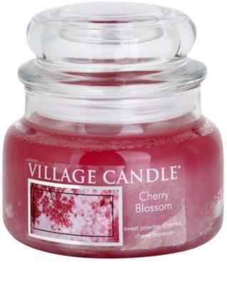 Village Candle Cherry Blossom vela perfumado  pequeno