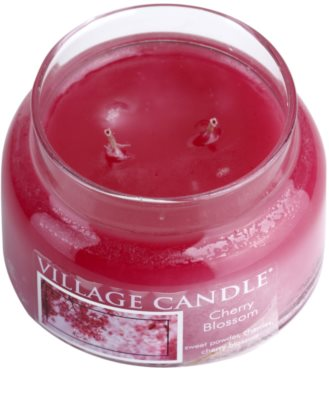 Village Candle Cherry Blossom vela perfumada   pequeño 1