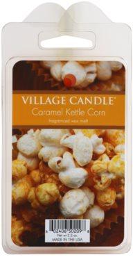 Village Candle Caramel Kettle Corn vosek za aroma lučko