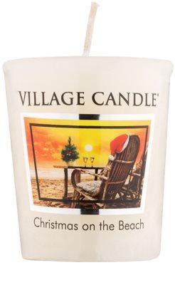 Village Candle Christmas on the Beach viaszos gyertya