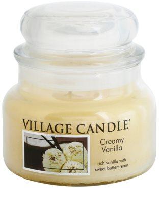 Village Candle Creamy Vanilla Duftkerze   kleine