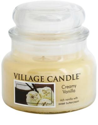 Village Candle Creamy Vanilla ароматна свещ   малка