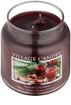 Village Candle Festive Cranberry ароматизована свічка   середня 1