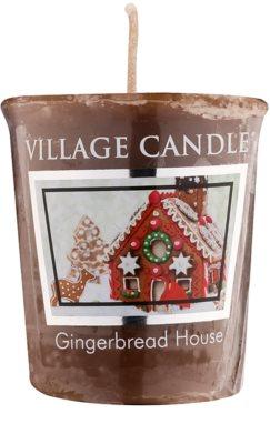 Village Candle Gingerbread House votivna sveča
