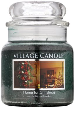 Village Candle Home for Christmas ароматна свещ   среден