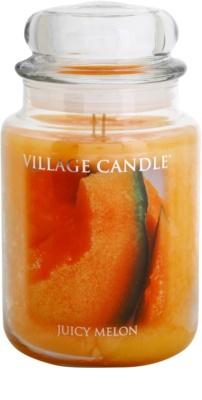 Village Candle Juicy Melon illatos gyertya   nagy