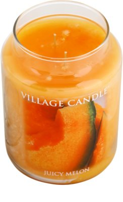 Village Candle Juicy Melon Duftkerze   große 1