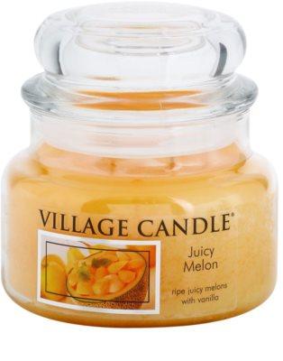 Village Candle Juicy Melon Duftkerze   kleine